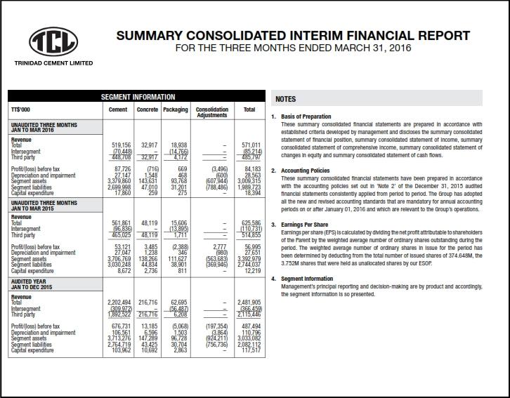 TCL Q1 2016 Financials 002