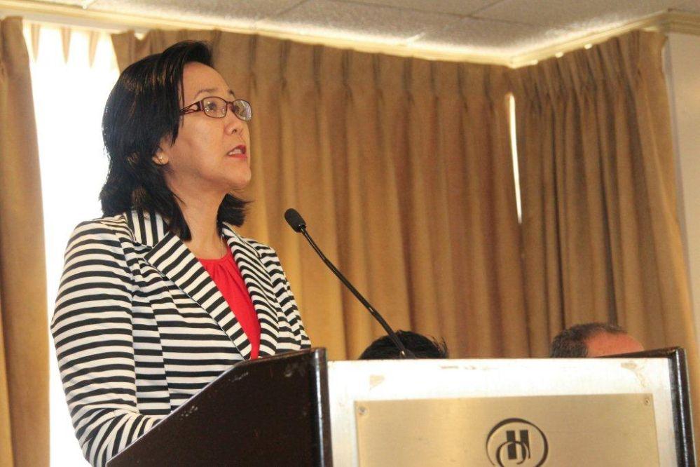 TCLG's HSE Manager, Ms. Hannah Wei-Muddeen