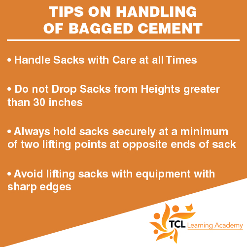 Tips on Handling of Bagged Cement